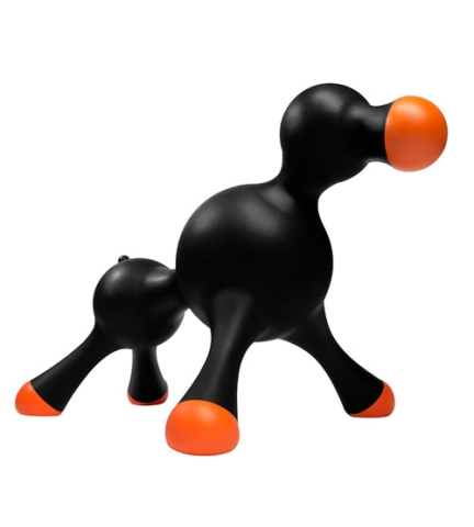 Hot Doll for Dogs In Black