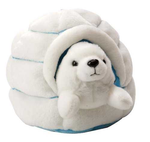 Harp Seal with Igloo