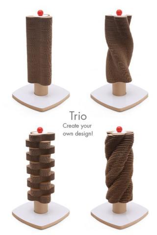Trio Scratch Tower: ©Moderncat Studio