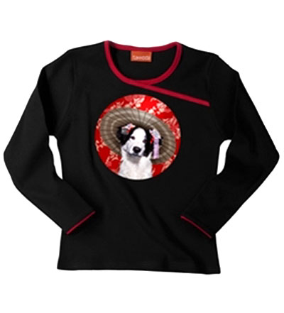 Geisha Dog T-Shirt: ©Takkoda