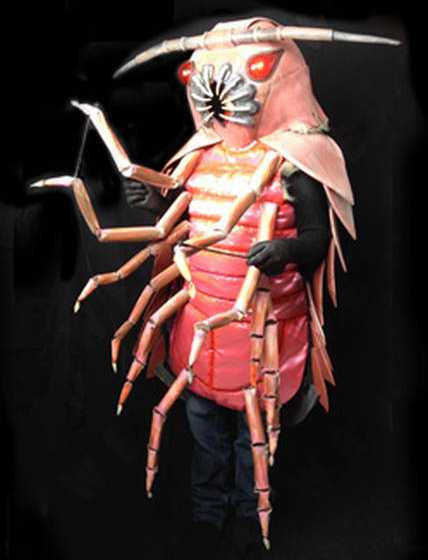 Isopod Halloween Costume Will Make You Curl Up With Fear