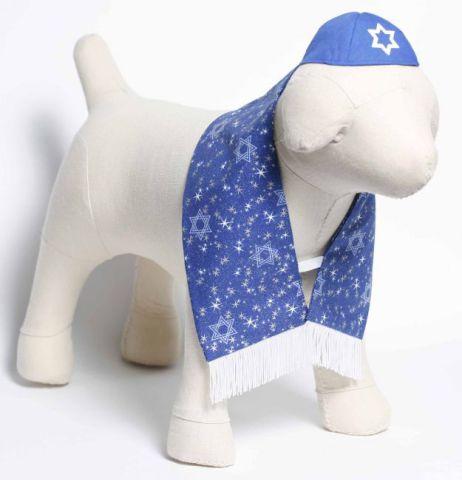Dog Yarmulke and Tallis