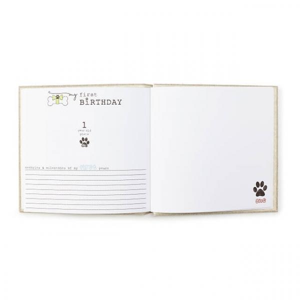 Bark Book -- Doggy Milestone Journal