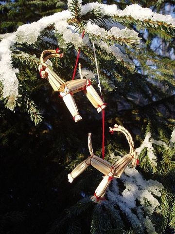 Julebok Ornaments (Photo by Udo Schröter/Creative Commons via Wikimedia)