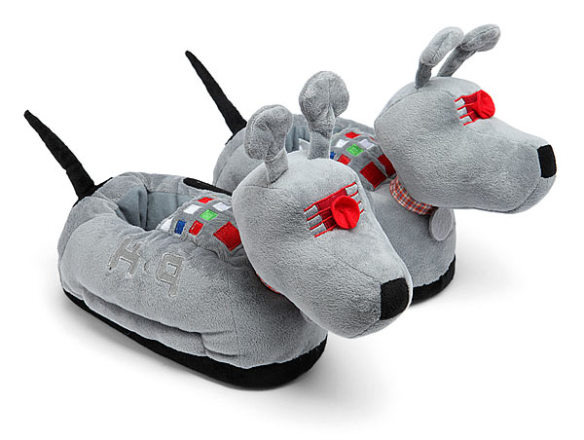 Dr. Who K9 Slippers