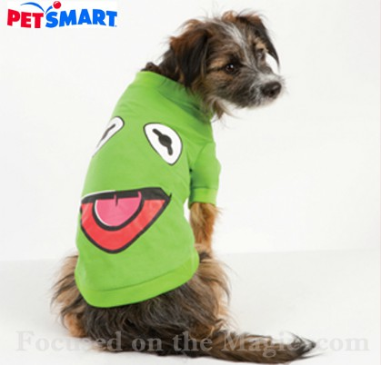 kermit the frog disney shirt for dogs