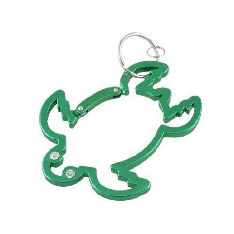 Sea Turtle Carabiner Key Chain