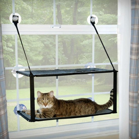K&H window-mount cat perch