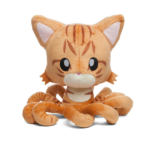 Orange Tabby Tentacle Kitty