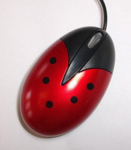 Adorable Ladybug Computer Mouse