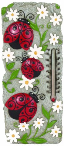 Ladybug Thermometer