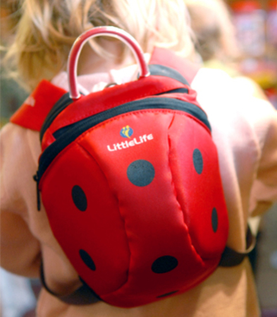 Cute Ladybug Daysack will help your little one through the day