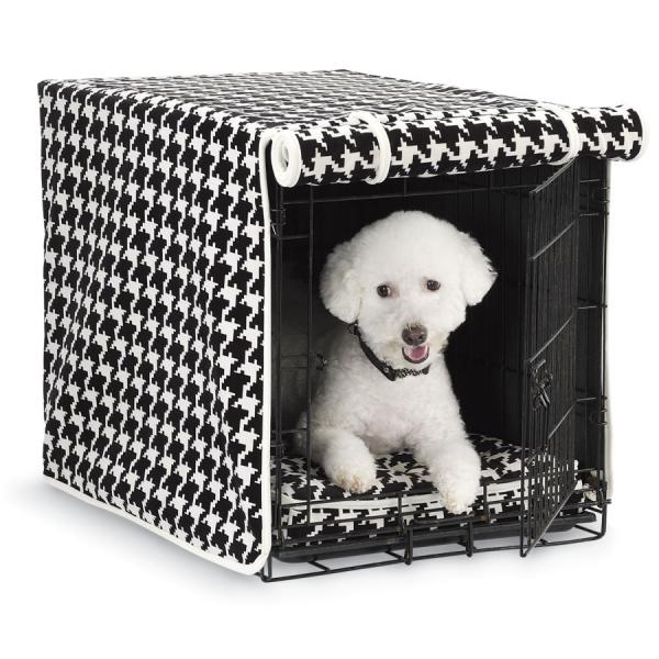 Tailored Dog Crate Cover