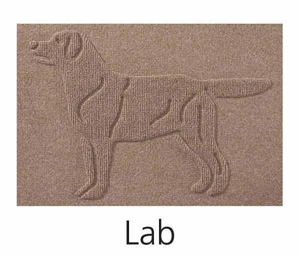 WaterGuard Breed Silhouette Dog Mat