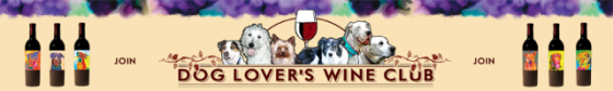 The Dog Lover's Wine Club logo