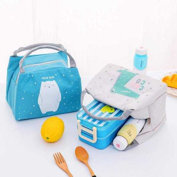 Insulated Animal Lunch Bags