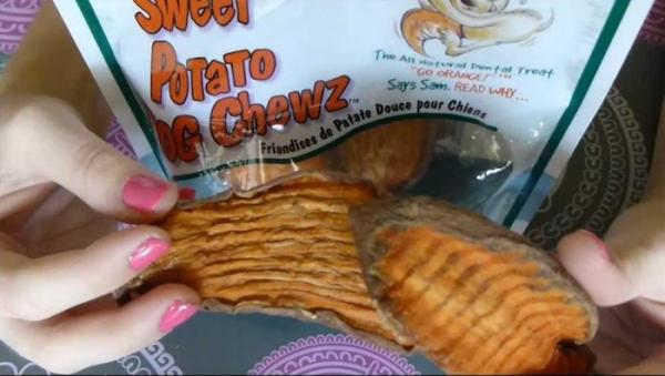 Sam's Sweet Potato Dog Chews