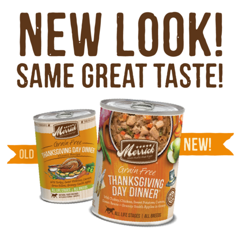 Merrick Thanksgiving Day Dinner Canned Cat & Dog Foods
