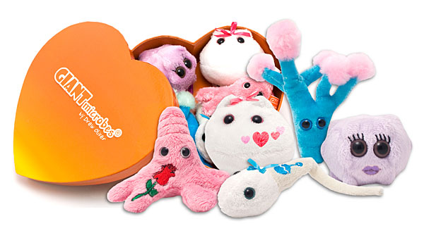 Giant Microbes Heart Warming Box