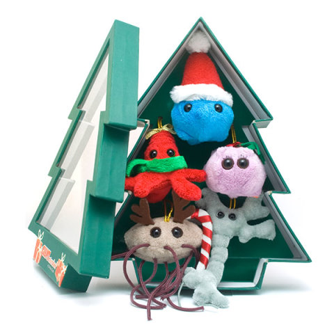 Christmas Tree Microbe Box