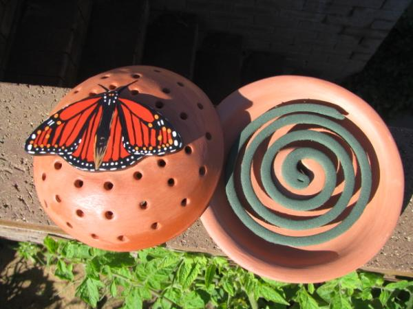 Zap Zika With Handmade Ceramic Mosquito Coil Holders