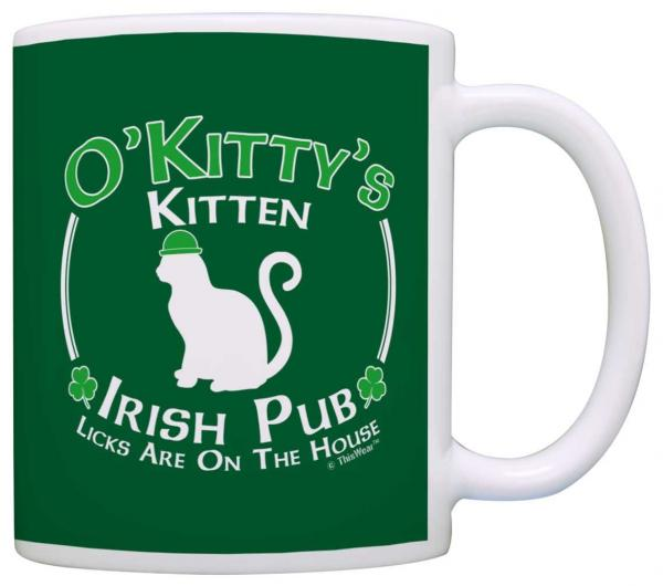O'Kitty's Irish Pub Mug