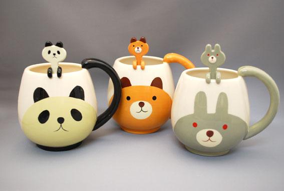 Other Animal Mug and Spoon Sets