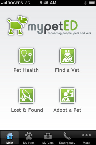 MyPetED iPhone & iPad apps: © LifeLearn Inc