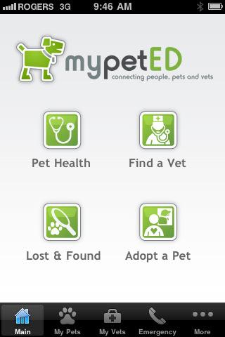 MyPetED iPhone & iPad apps: © LifeLearn Inc