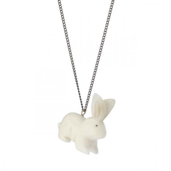 Tagua Bunny Rabbit Necklace