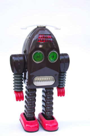 Robota is MUCH cuter than this robot...