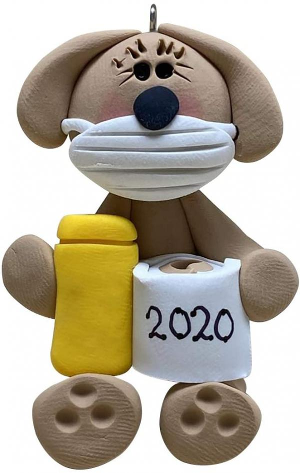 2020 Dog Ornament