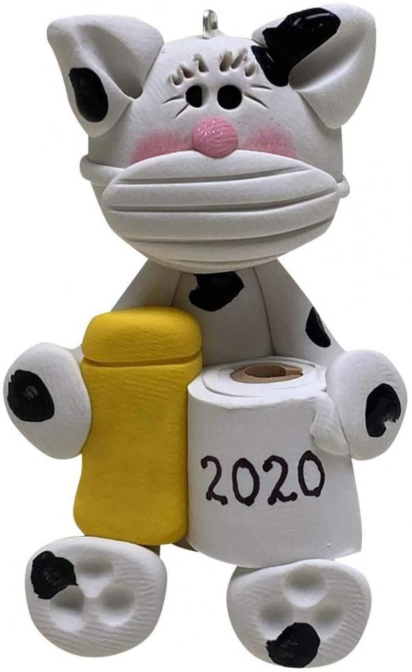 2020 Cat Ornament
