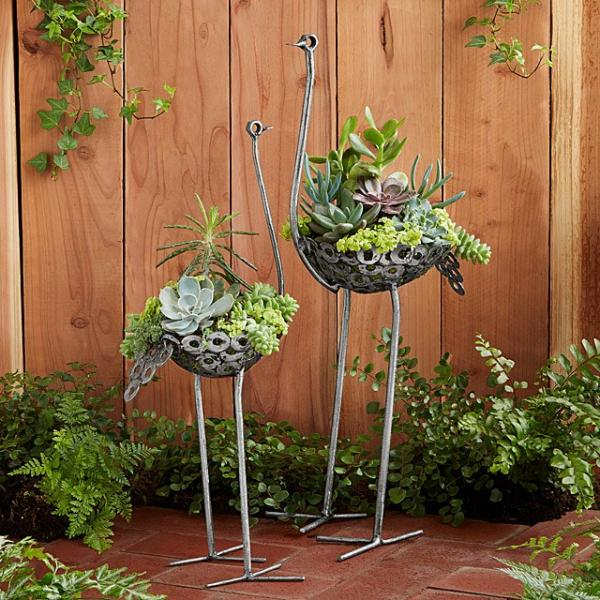 These Garden Planters Are For The Birds | Petslady.com on garden urns, garden patios, garden yard spinners, garden pots, garden ideas, garden pools, garden beds, garden vegetable garden, garden arbors, garden plants, garden boxes, garden bench, garden art, garden accessories, garden walls, garden trellis, garden steps, garden seeders, garden tools, garden shrubs,