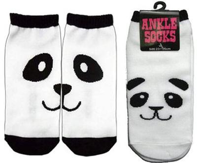 Panda ankle socks: Source: Amazon.com
