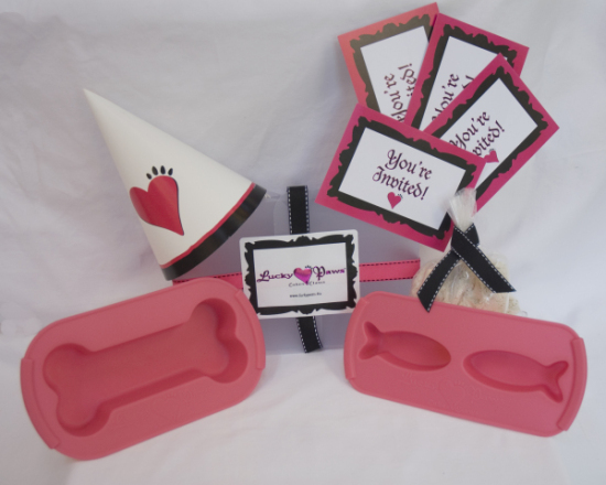 Party 2 Go Kit, with PetCakes: ©Lucky Paws