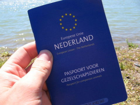 Pet Passport from the Netherlands (Photo by M.M.Minderhoud/Creative Commons via Wiimedia)