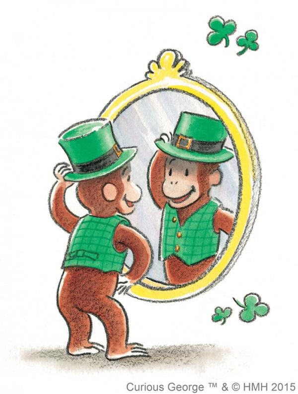 Happy St. Patrick's Day, Curious George