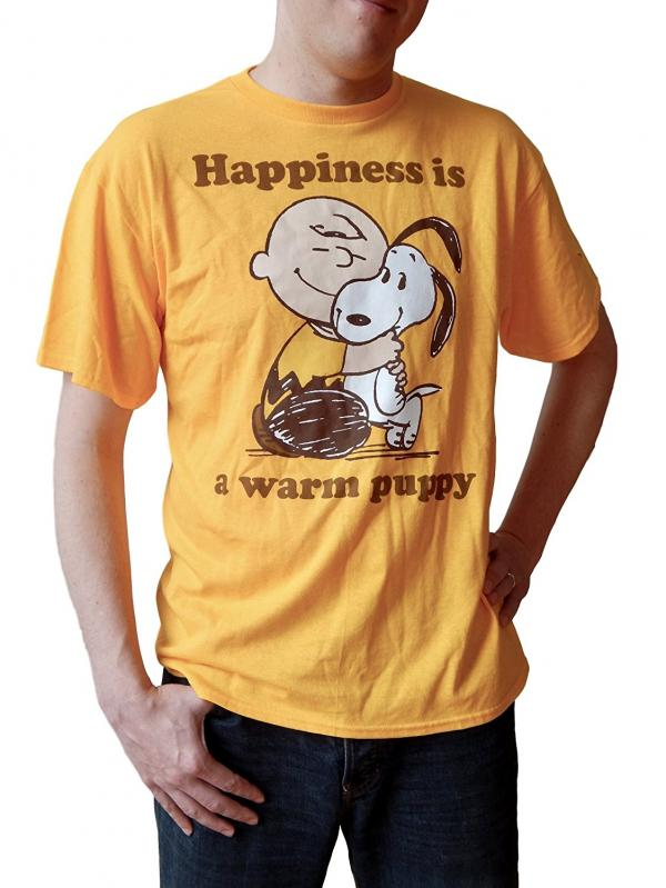 Happiness is a Warm Puppy T-shirt