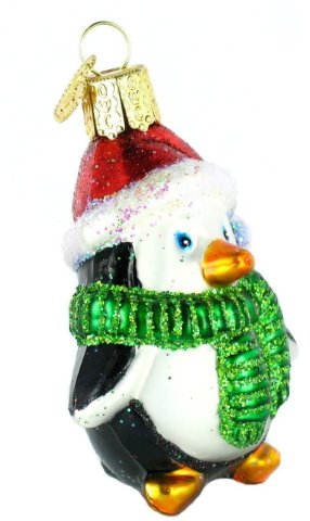 Playful Penguin Christmas Ornament