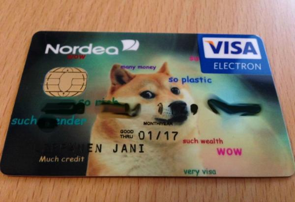 Credit, Debit, Pet It: Put Your Pet's Pic On Your Bank Card