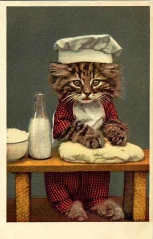 Kitten Baker (Image via The Dainty Squid)