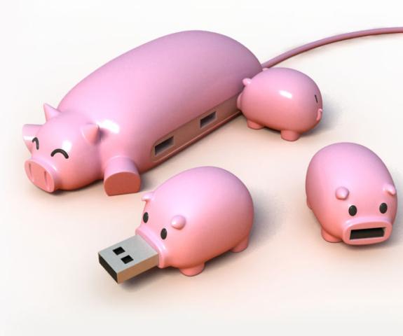 PigChum USB Hub