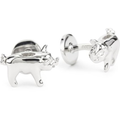 Piggy Bank and Penny Cufflinks