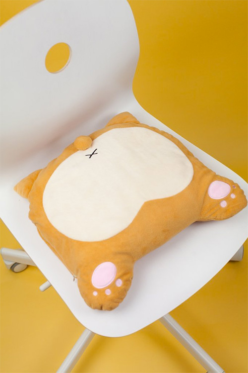 Corgi Burr USB Heated Pillow