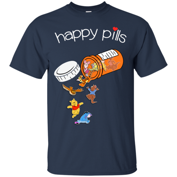 Happy Pills Winnie the Pooh Lover's T-Shirt