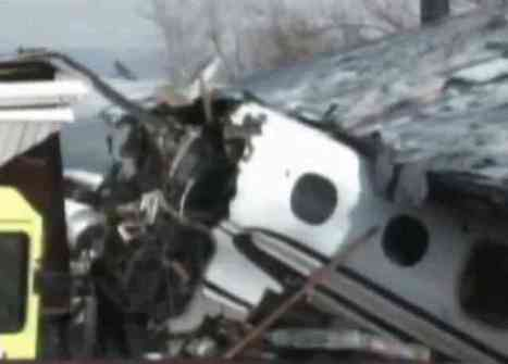 Plane Crash In Indiana, March 17, 2013 (You Tube Image)