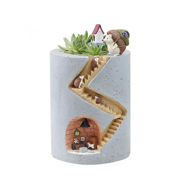 Hedgehog Succulent Plant Pot