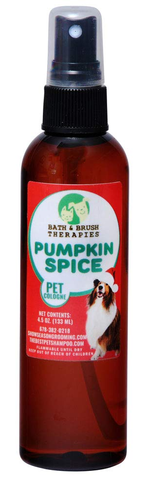 Pumpkin Spice Pet Cologne from Showseason Animal Products