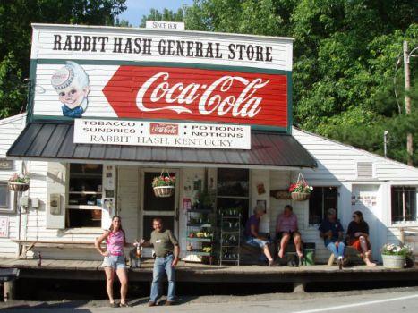 Rabbit Hash General Store (Public Domain Image)
